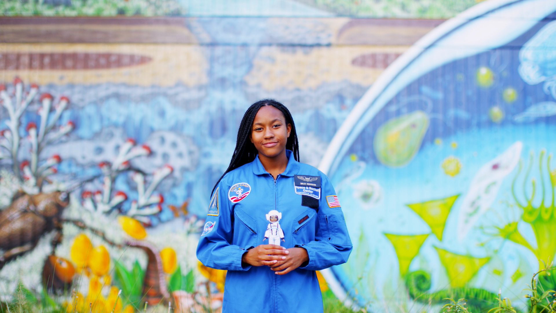 Taylor Richardson, a 13-year-old from Jacksonville, Florida, is going places — perhaps Mars!