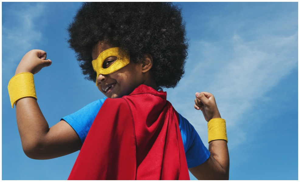 Let's teach our kids how to be real life super heroes.