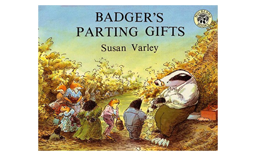 Badger's Parting Gifts teaches about pet death