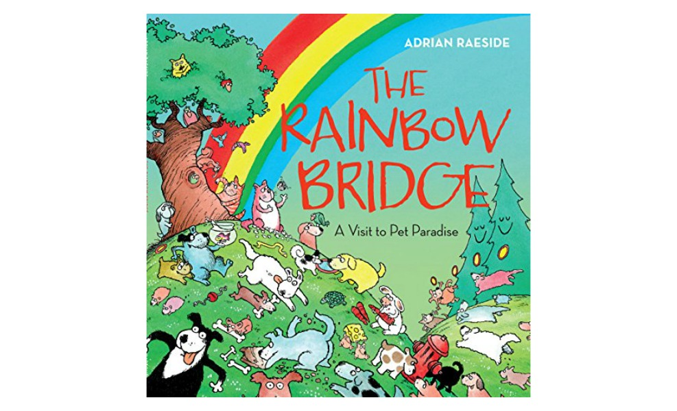 The Rainbow Bridge teaches about the death of a pet