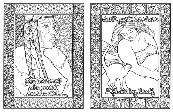 pregnancy coloring pages