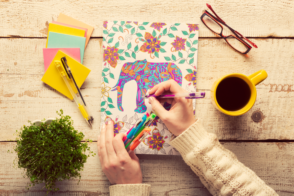 Nowadays We Dont Have To Leave All The Fun And Health Benefits Of Coloring Our Kids Here Are Some Favorite Books For Teens Adults