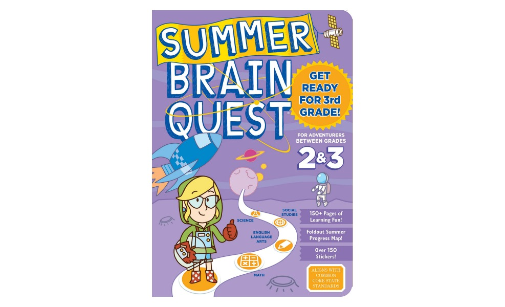 Brain Quest books build math facts