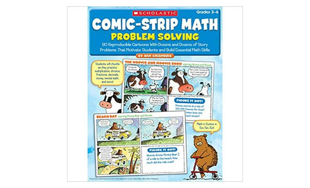 These comic strips will make math fun