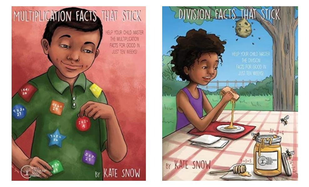 Math-facts that stick is a fun math book