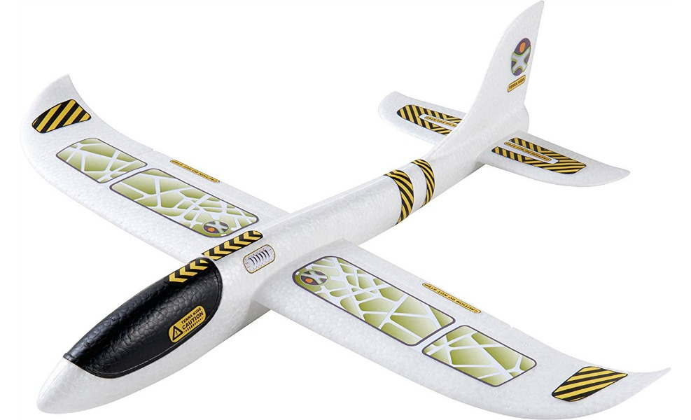 The Terra Glider teaches kids about aerodynamics and physics