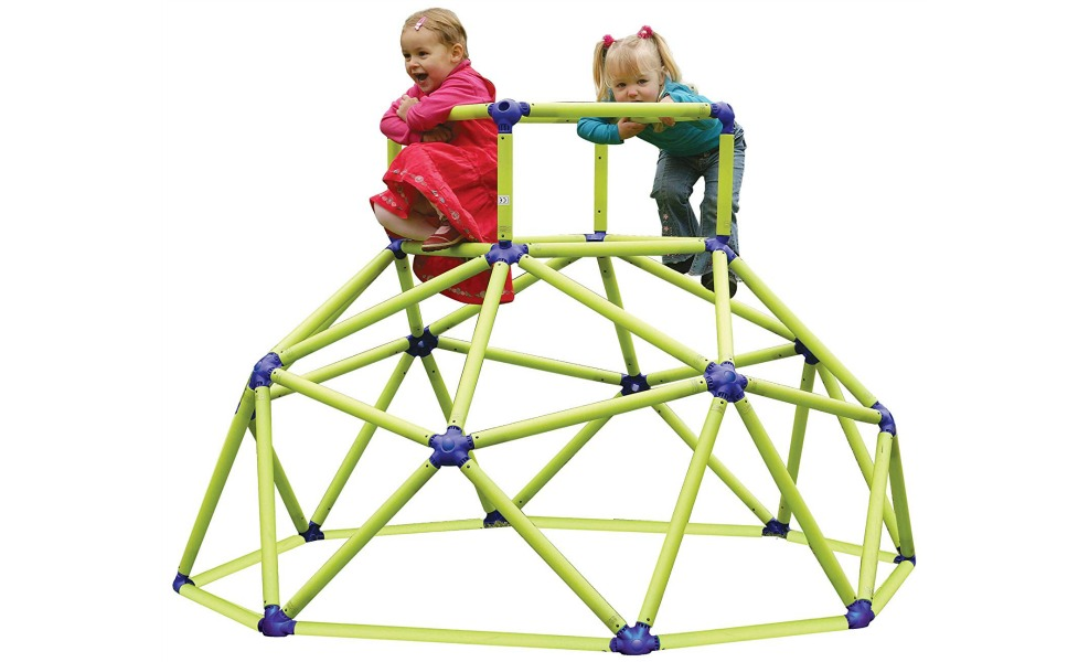 Kids will play on these monkey bars for hours