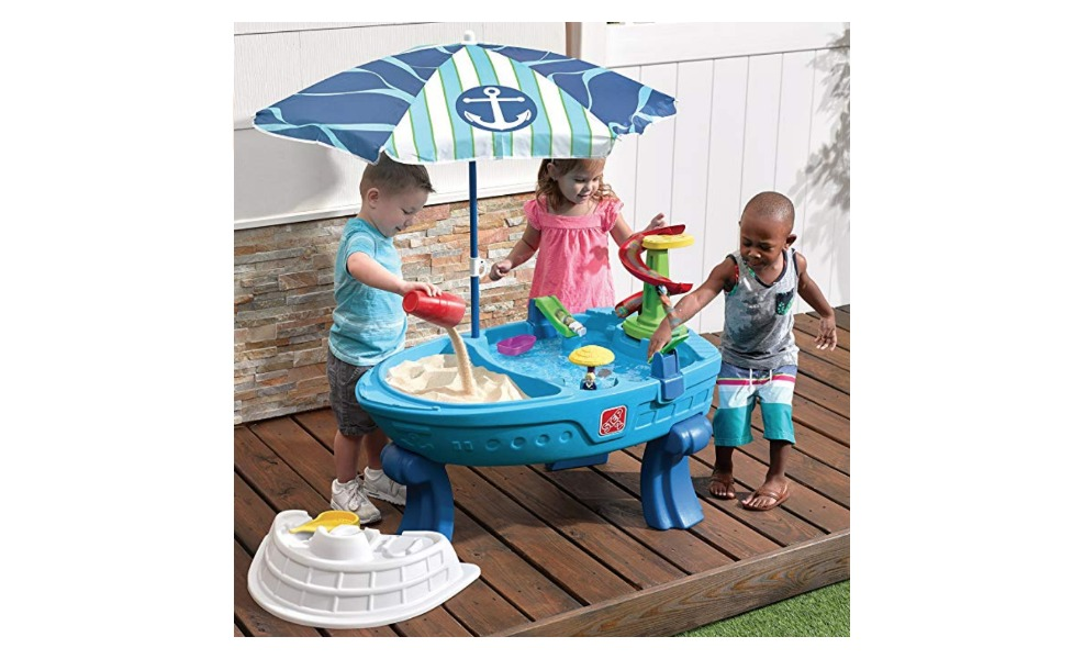 Step 2's Water Table will have kids playing with their imagination for hours