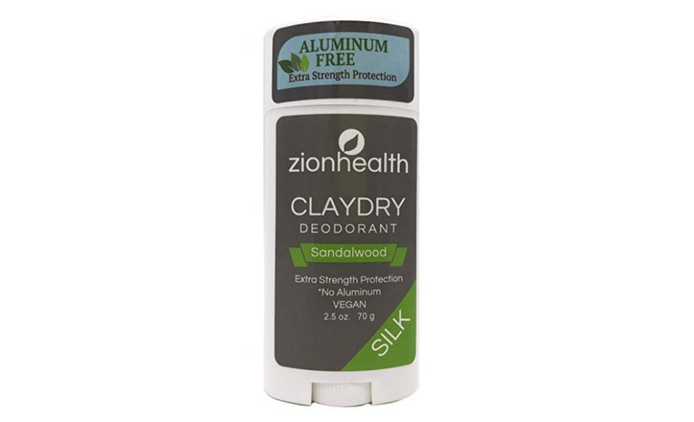 Zion Health uses clay to keep you dry