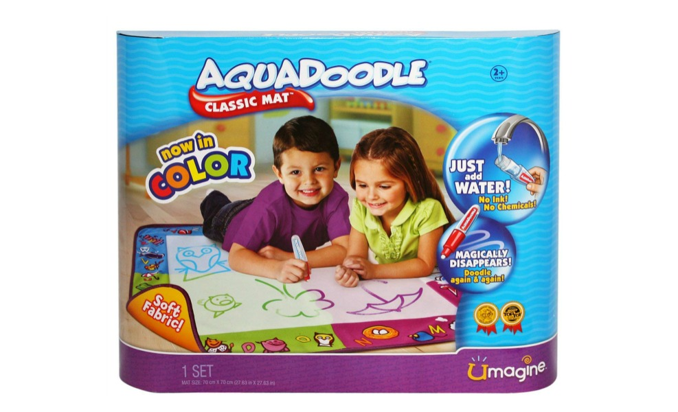 The Aquadoodle mat is good sensory toy for kids