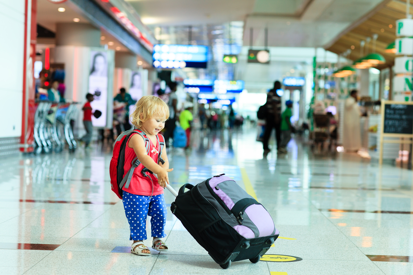Lessons Learned Traveling Abroad with my Toddler