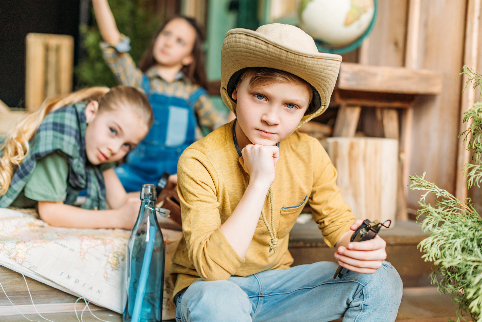 Why not begin geocaching with your family? While the treasure you'll find won't be gold, it'll be just as valuable.