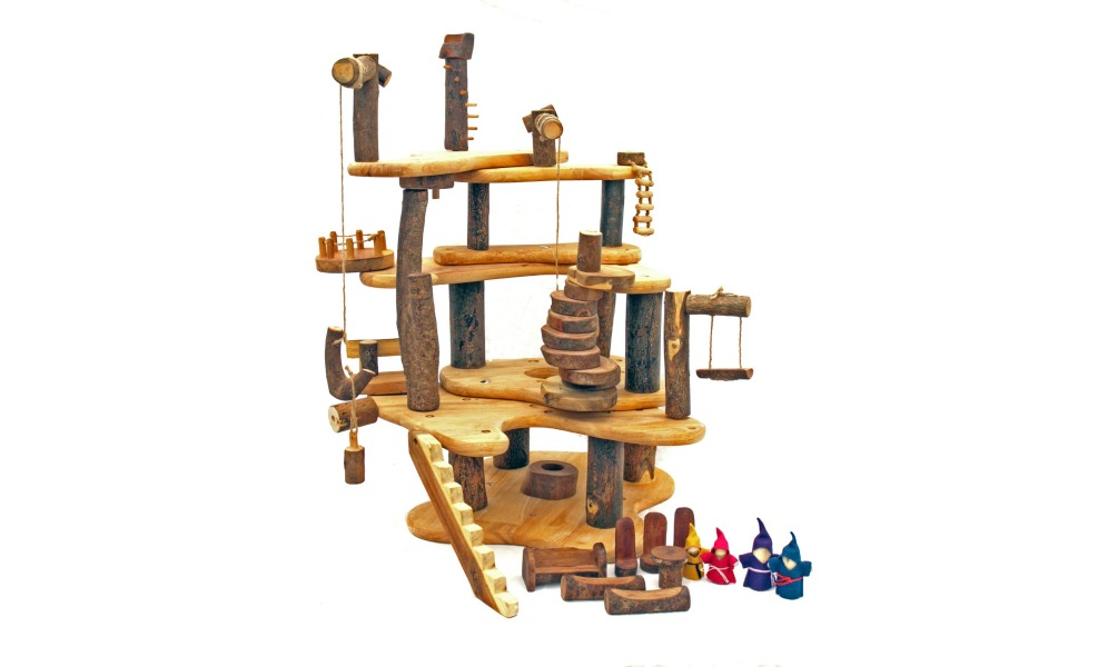 Tree Blocks is an eco-friendly, educational toy line that is made from natural wood.