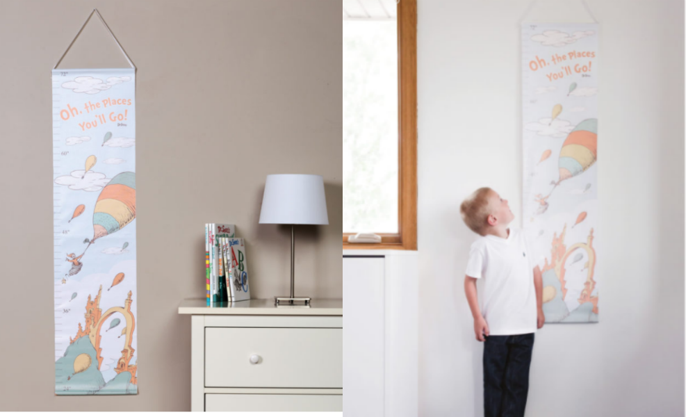This Dr. Seuss growth chart keeps track of how your little grows!