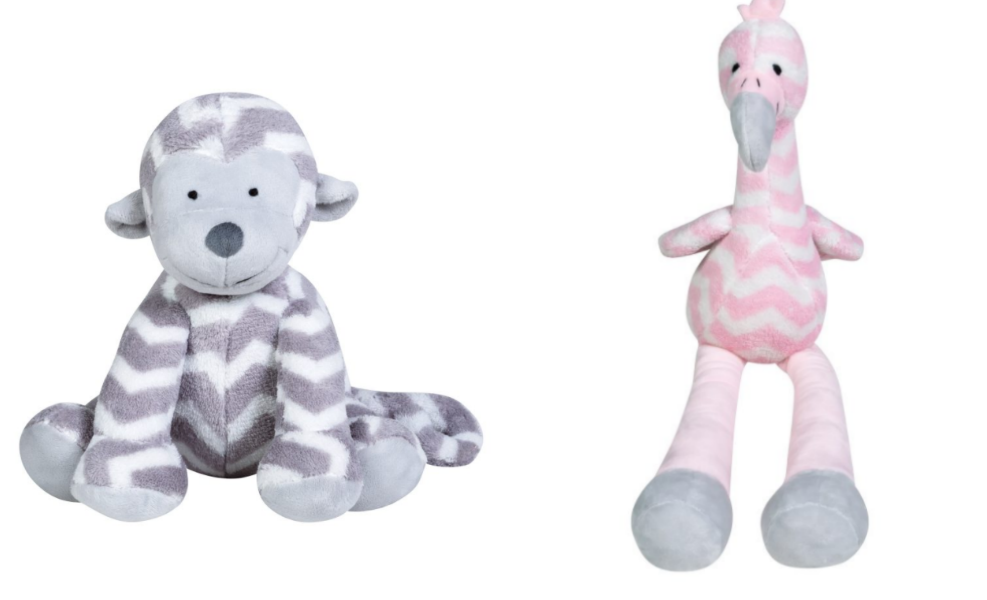 These plush toys are sure to be hits for your little's lovies