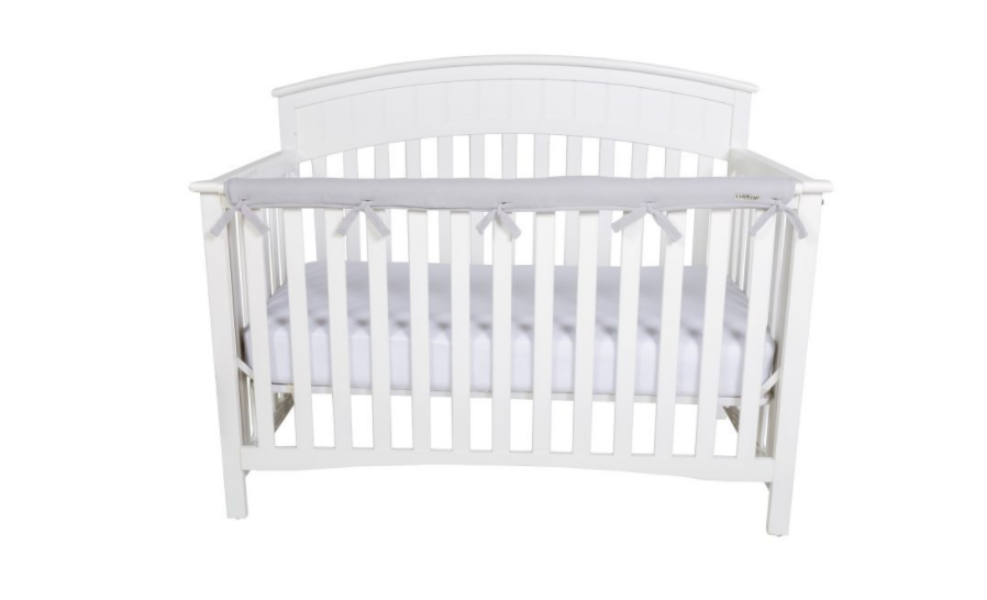 CribWrap by TrendLab Protects your baby from wood poisoning and the furniture from bite marks!