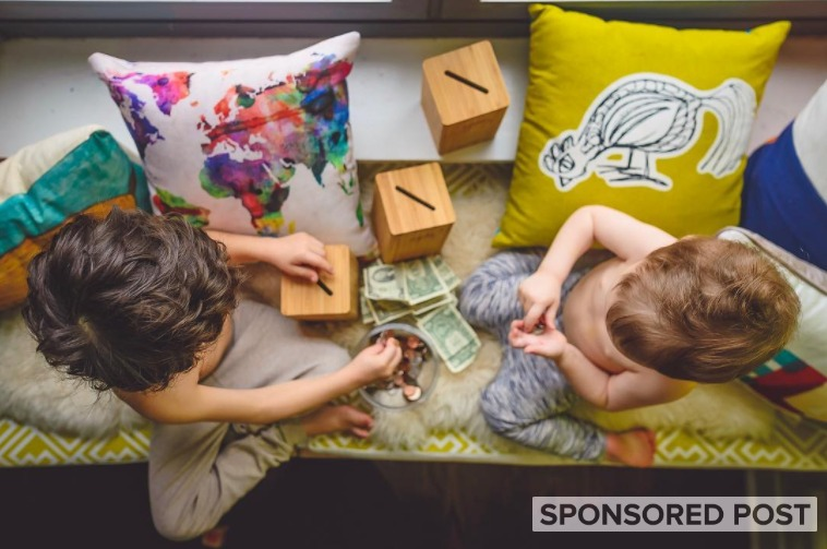 The children's brand, Jones & Mae, is teaching your kids about money with 'TheTrio Method.'