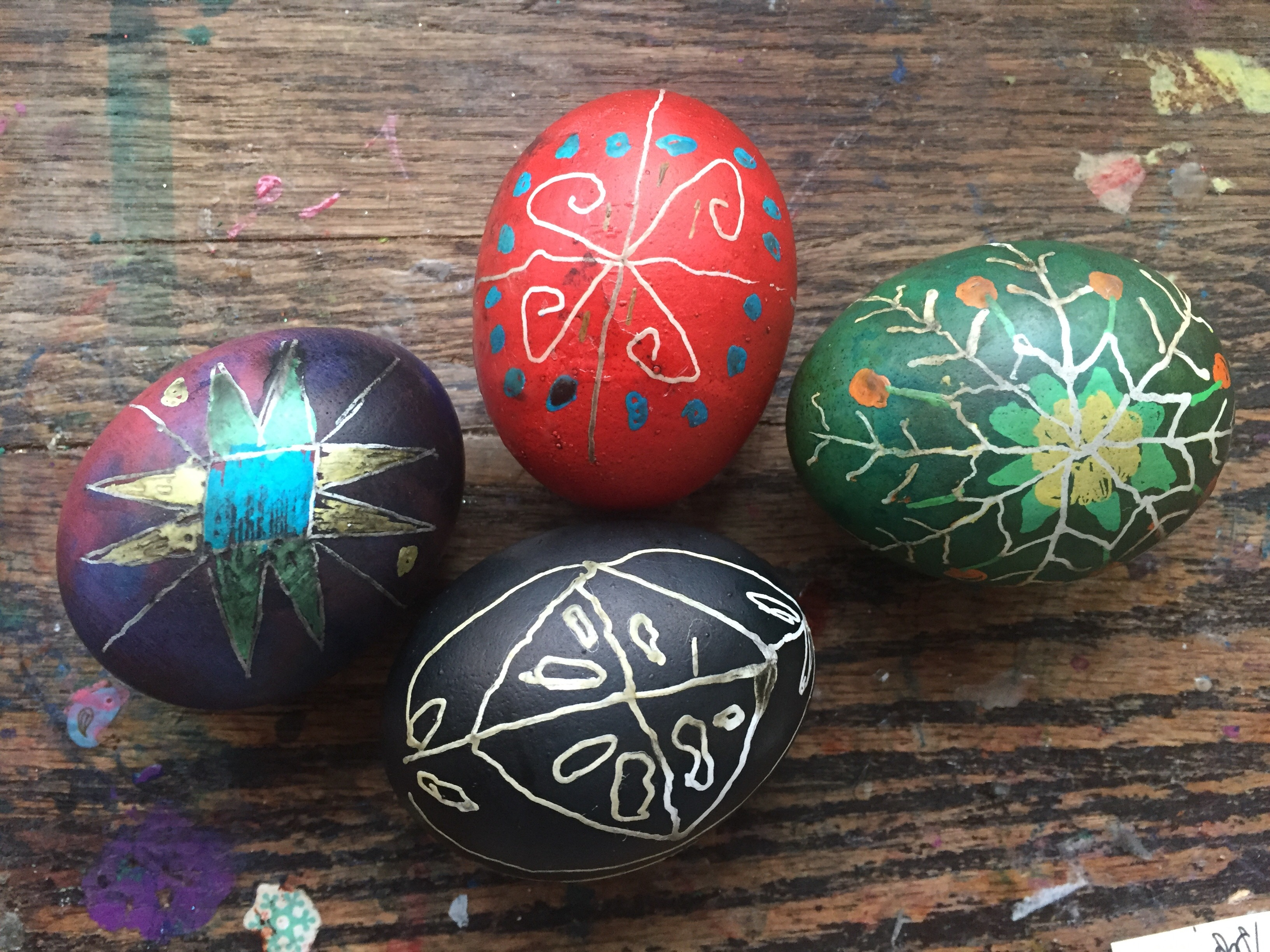 DIY: How to Make Ukrainian Easter Eggs