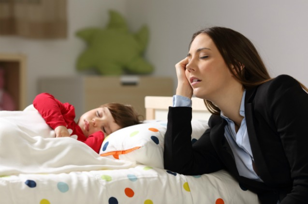 Working mothers are overwhelmed with stress compared to their US peers