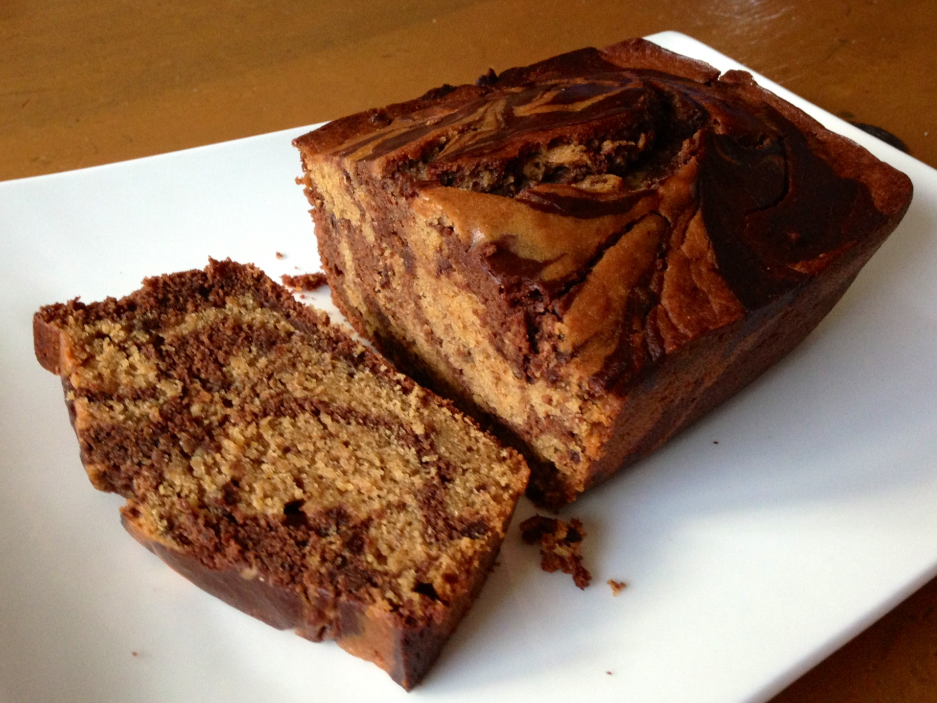 If you're a fan of Starbuck's marble loaf, you've got to try this vegan version that tastes exactly like the coffee house kind.