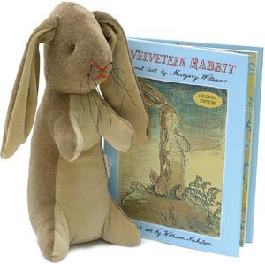 Image of: The Velveteen Rabbit Plush Toy and Book