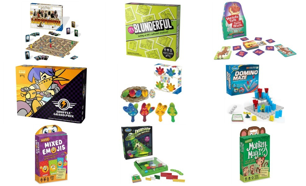 Board games are a great way to go screen-free in September!