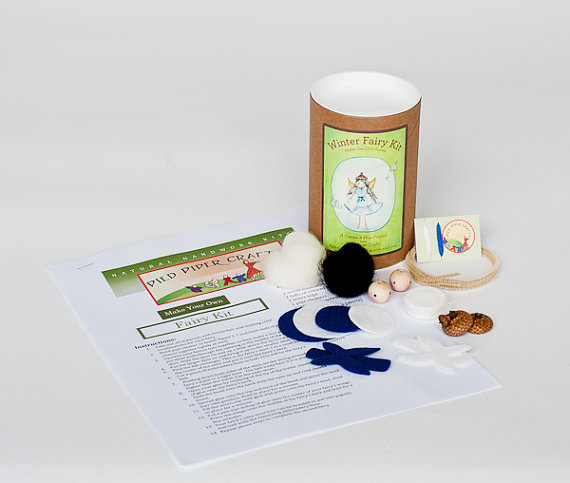 Image of: Winter Pocket Fairy Kit
