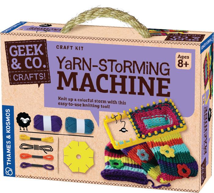 Image of: Yarn-Storming Machine