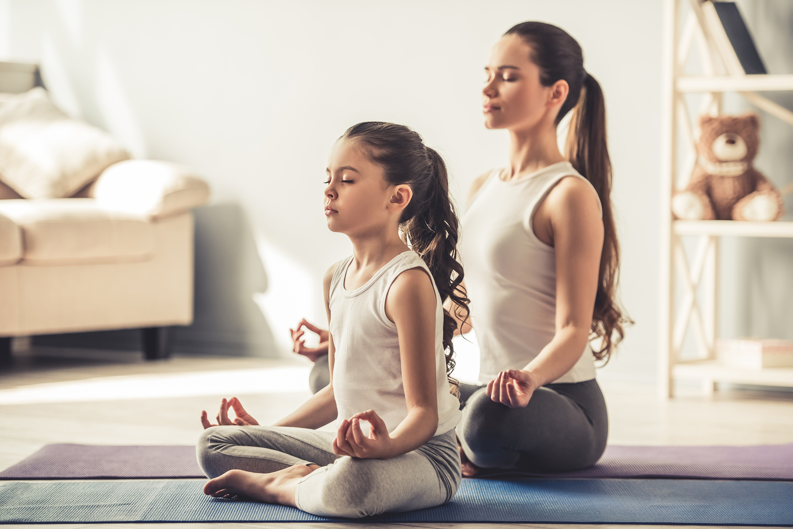 Lately, I've started noticing more and more yoga classes for kids, either with or without parents.
