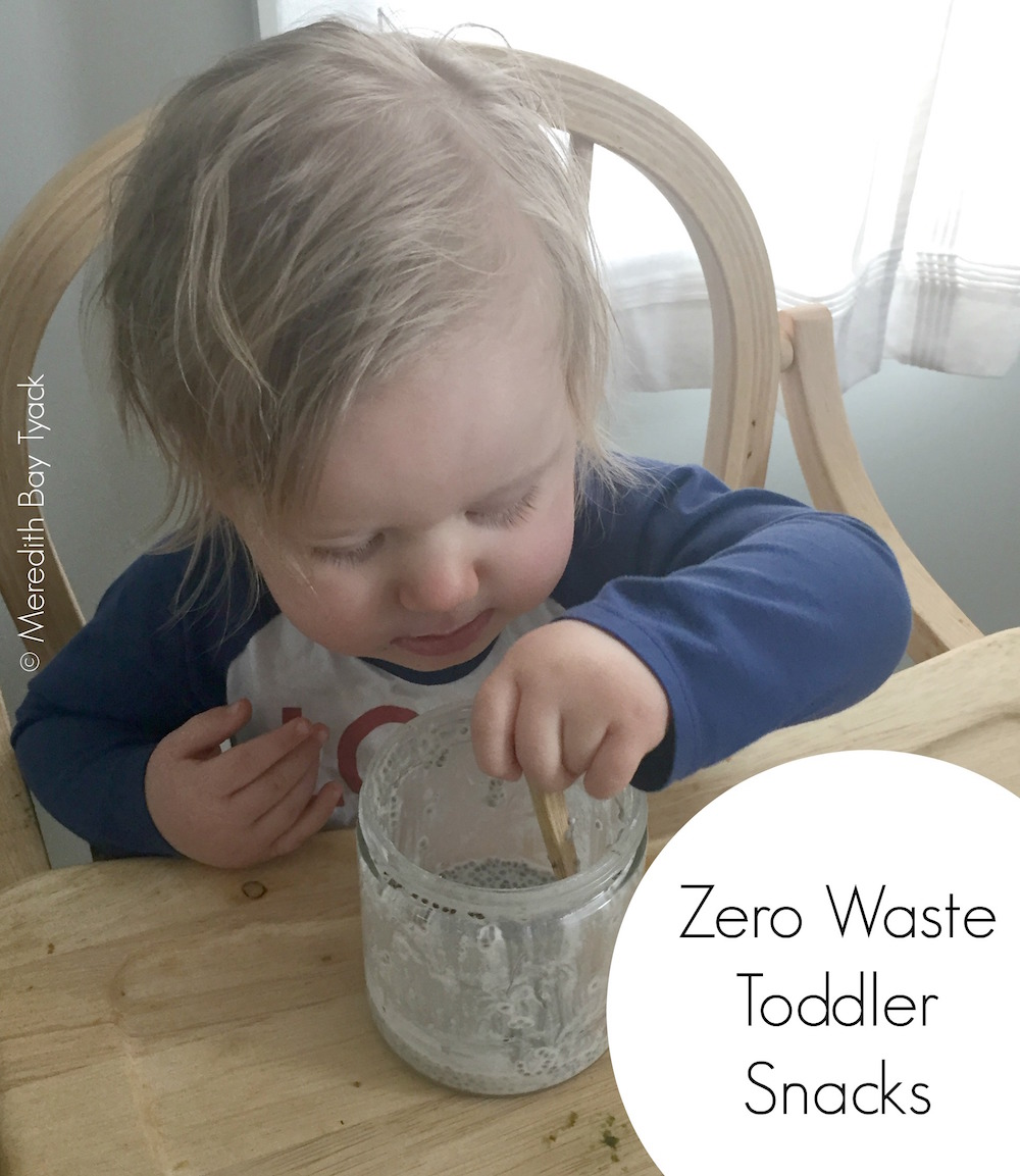 10 Zero Waste Snack Ideas for Toddlers
