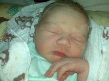 4 hour old Ronan Edward