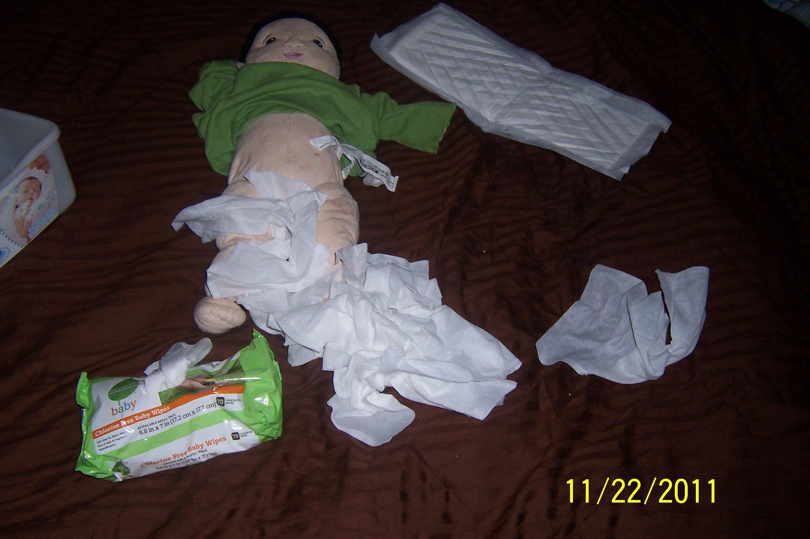 baby's diaper change