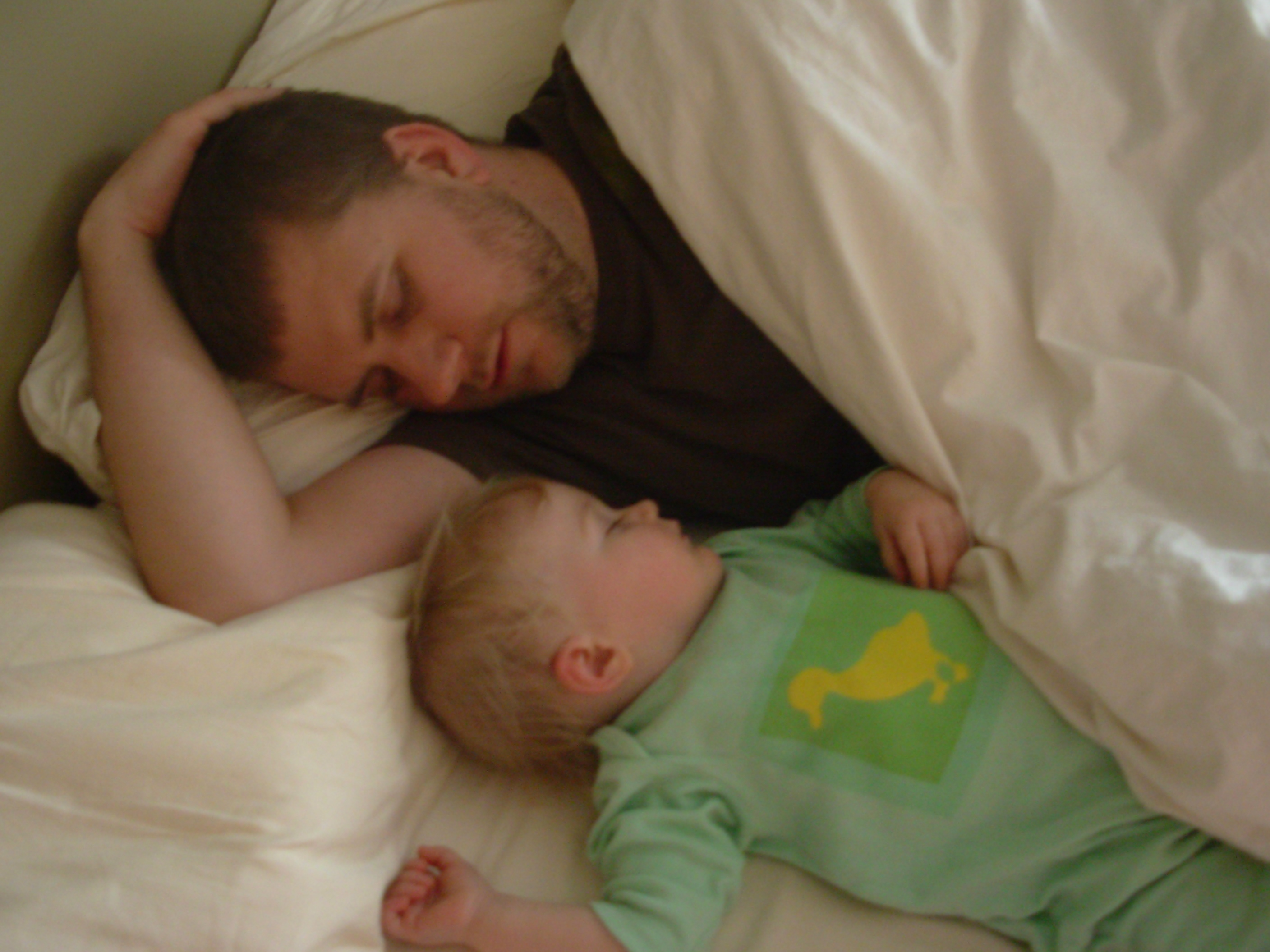 sleeping with daddy